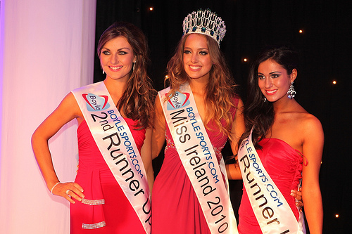 Emma was crowned back in 2010 as Miss Ireland