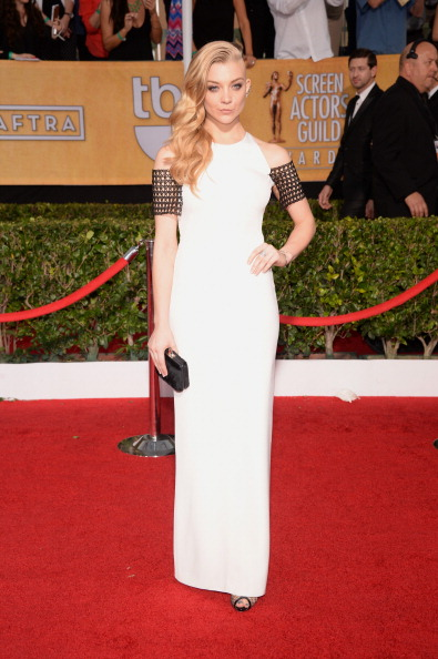 Natalie pictured on the red carpet at the Screen Actors Guild Awards