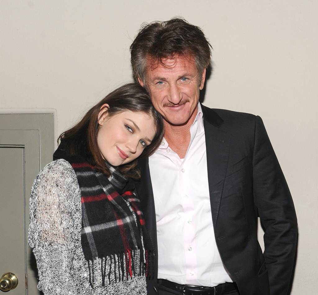 Good Together: Eve Hewson and actor Sean Penn