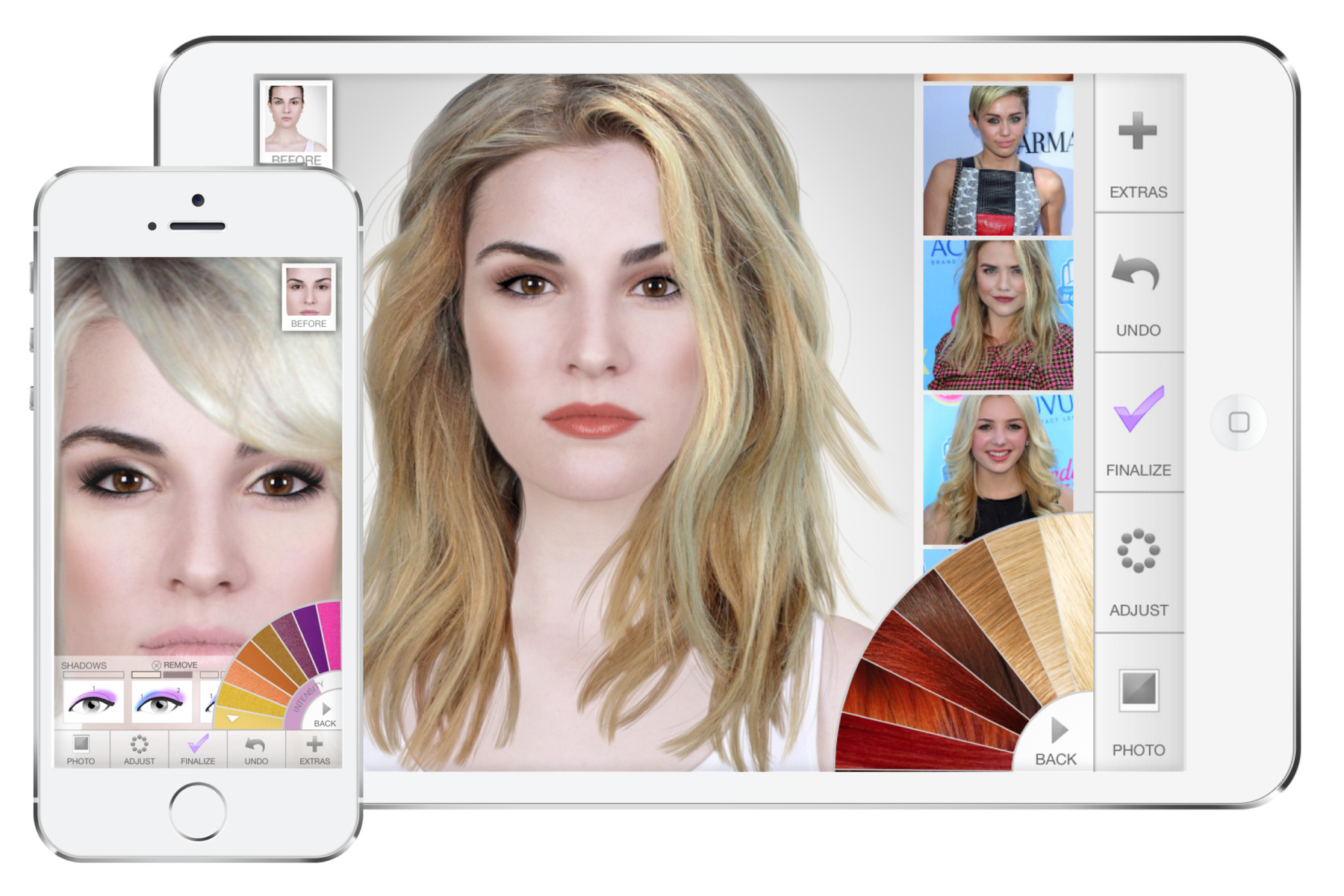 The Story Of Virtual Hairstyles App Has Just Gone Viral Virtual