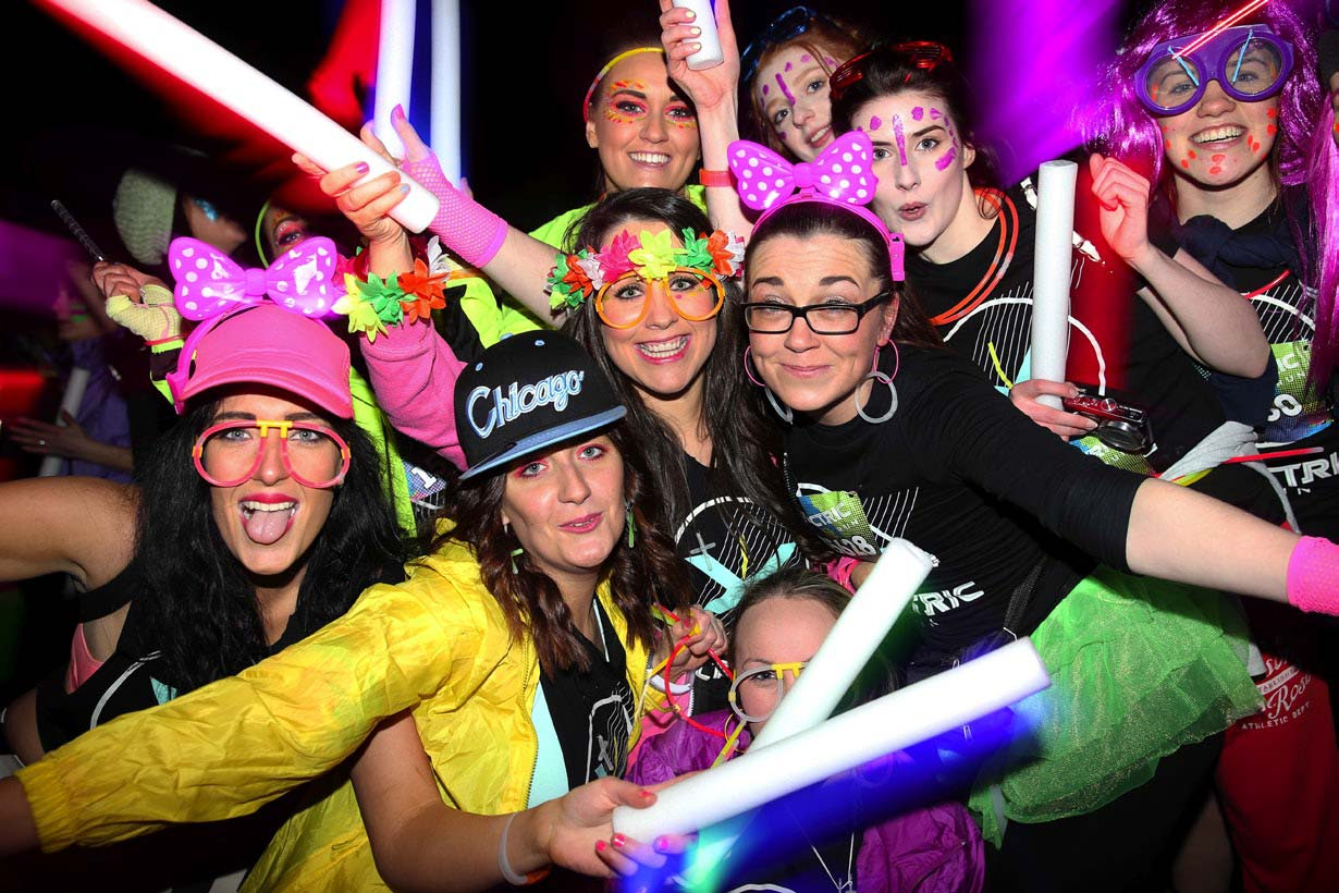 Runners at the Electric Run unaware it was not for charity