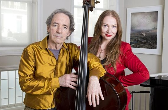 Harry Shearer with gracious, Wife Judith Owen