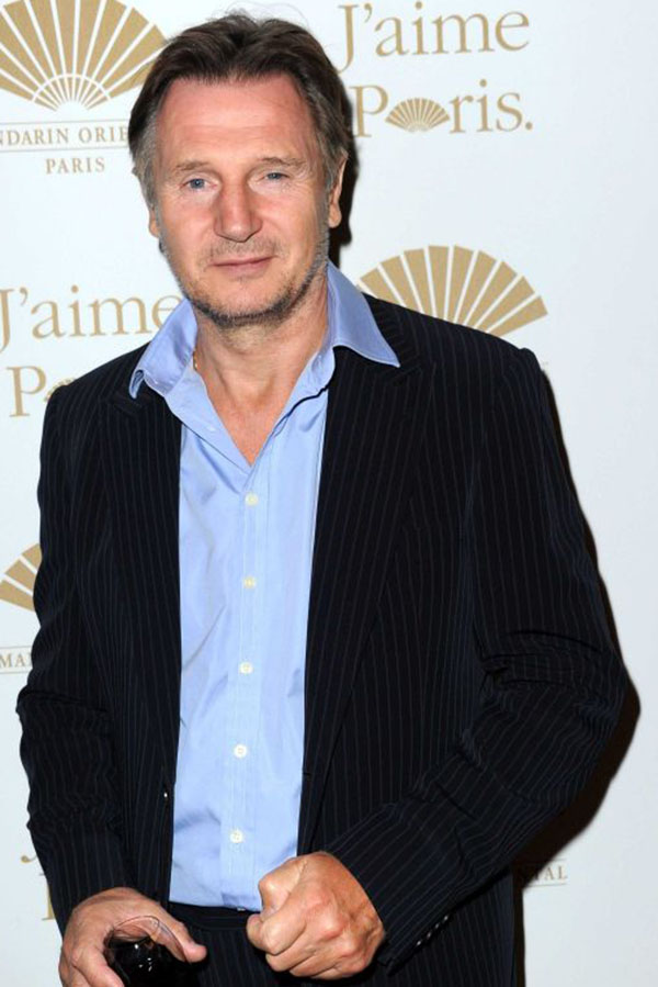 Irish actor Liam will receive the lifetime achievement award