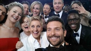 Nailed it: Ellen managed to snap the great and good of Hollywood in one shot