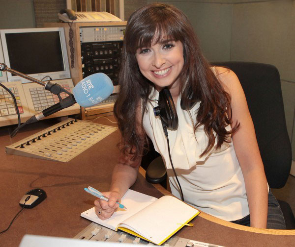 Aoibhinn is no stranger at RTE