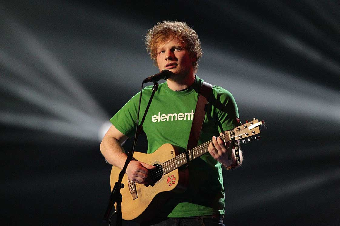Ed Sheeran made contact with Triona today