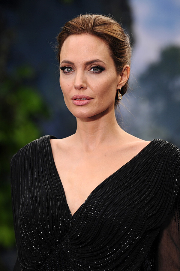 Angelina apparently bolted off for some solo pampering