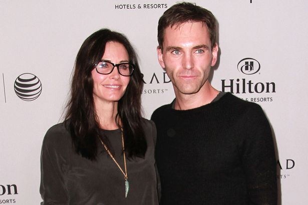 Courtney and partner Johnny McDaid Pic: File
