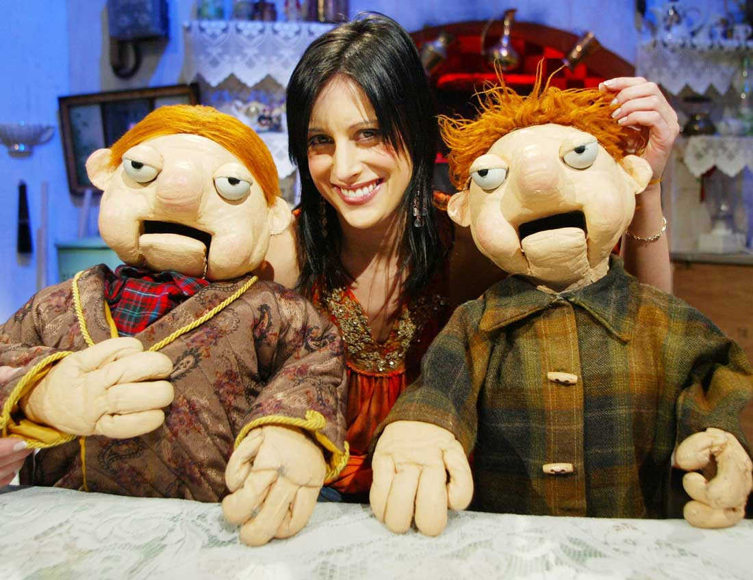 Lucy previously starred on RTE's Podge and Rodge