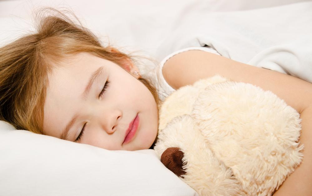 evoke-child sleeping
