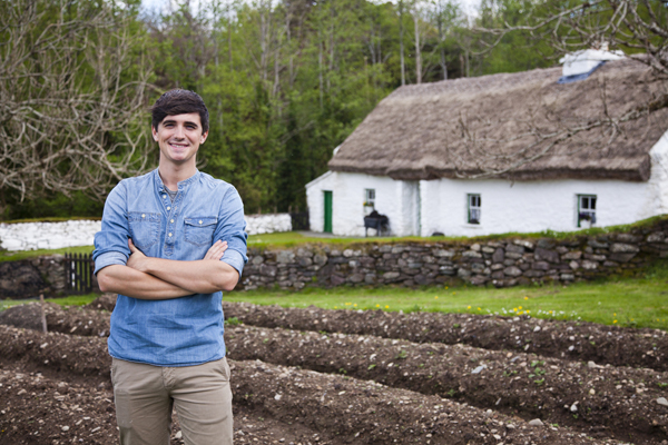 Donal promoting Kitchen Hero for RTÉ. Pic: File