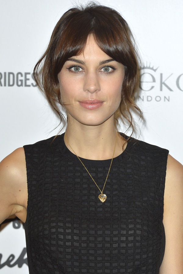 Alexa Chung is famous for her flicks