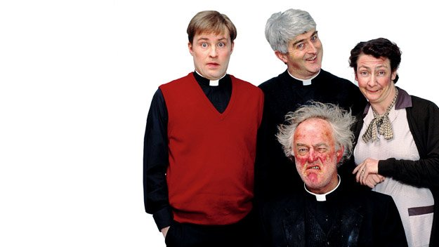 Father Ted was a massive hit
