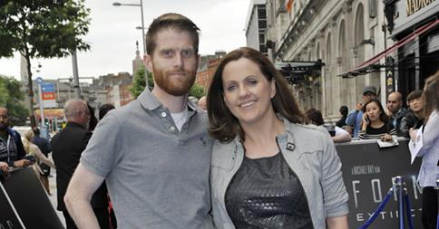 Ruth and Rob met at a Ted Fest quiz
