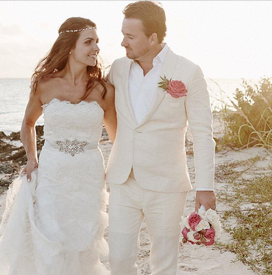 G-Mac and Ms Stape wed in an intimate ceremony in the Bahamas in 2013