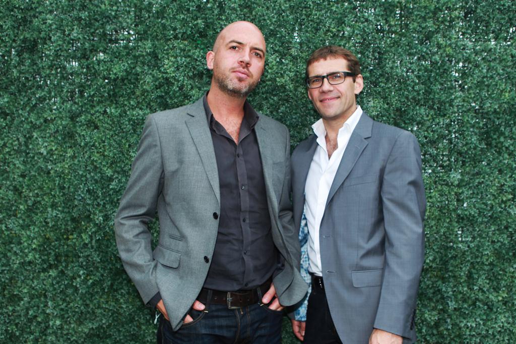 MasterChef Ireland's judges Dylan McGrath and Nick Munier