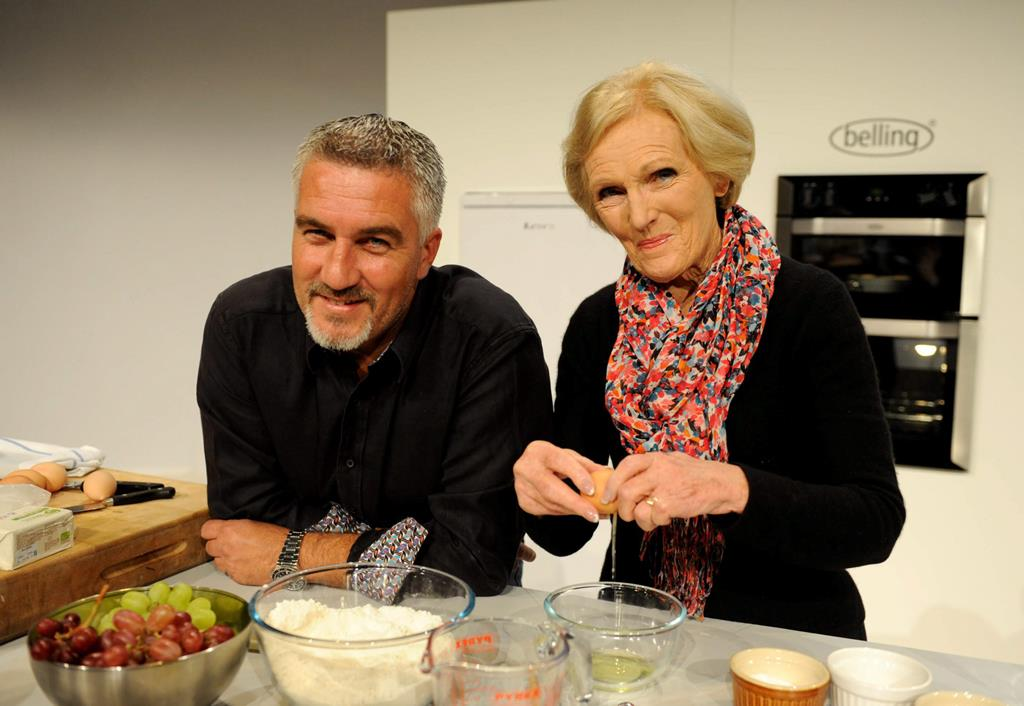 Judges Mary Berry and Paul Hollywood have a wonderful on screen chemistry Pic: File