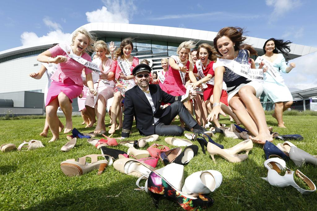 You could even bag a Rose like host Daithi! Pic: FIle