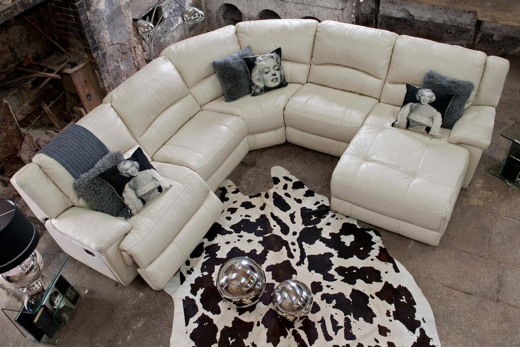 Make A Statement With This Emperor Leather Corner Sofa With Electric  Recliners, U20ac3,499, Part 49