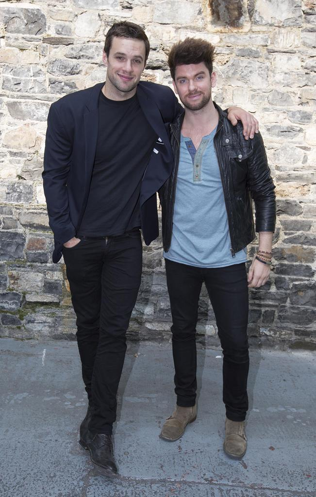Bressie and Eoghan McDermott Pic: File