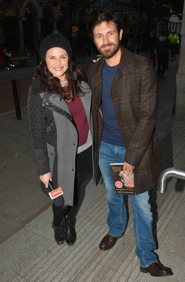 Published author Eoin with Xpose's Lisa Cannon