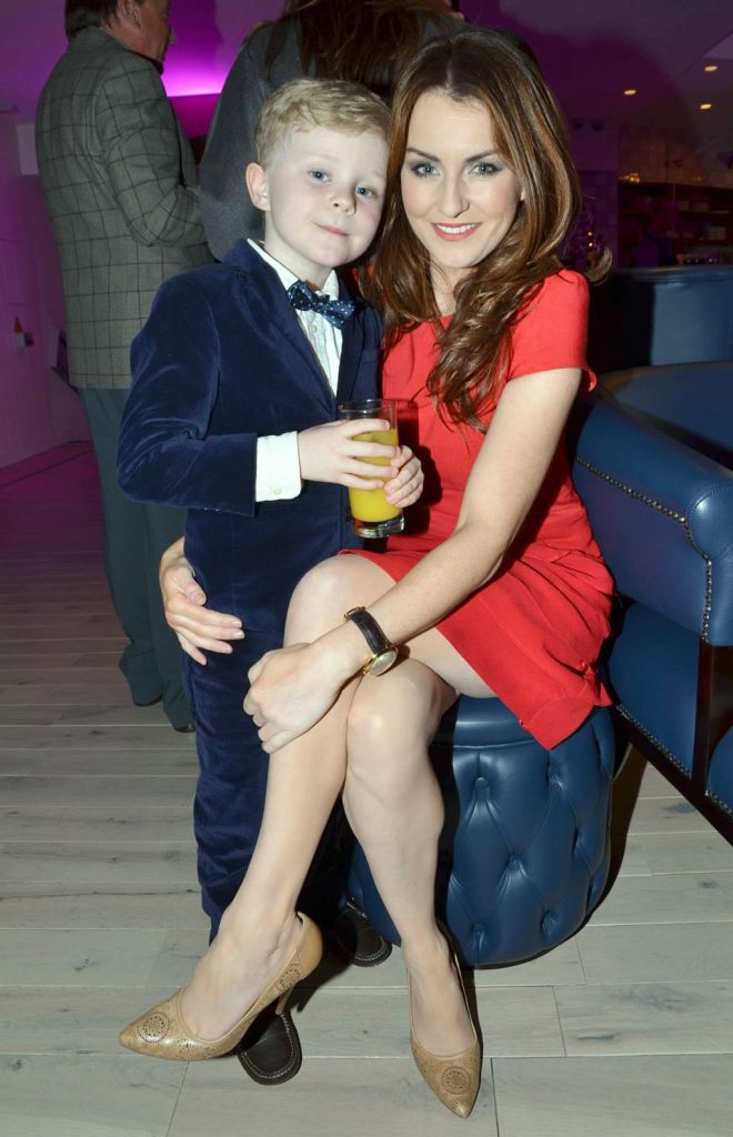 Proud mum Mairead with her son Dara
