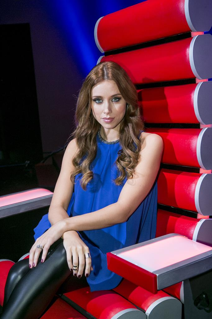 Una Foden during a recording of The Voice of Ireland in The Helix.NO FEE