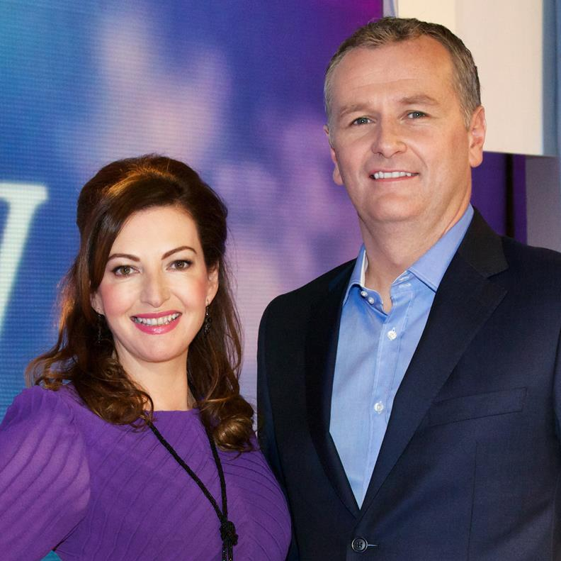 Today Show with Maura Derrane and Daithi O'Shea Pic: RTE