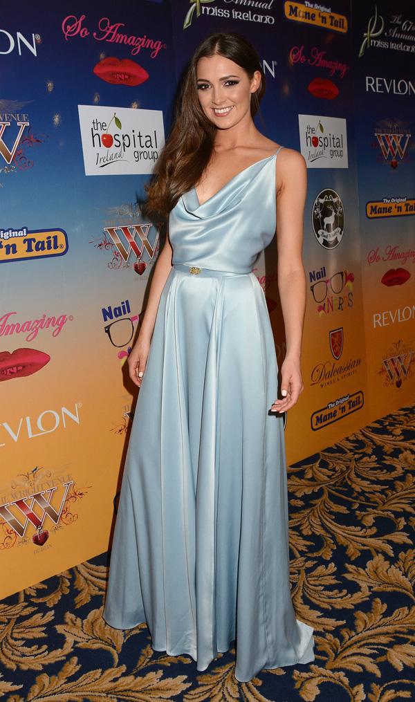 Rebecca won Miss Ireland in 2012