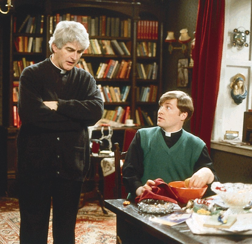 Father Ted star Dermot Morgan died 20 years ago Pic: Channel 4