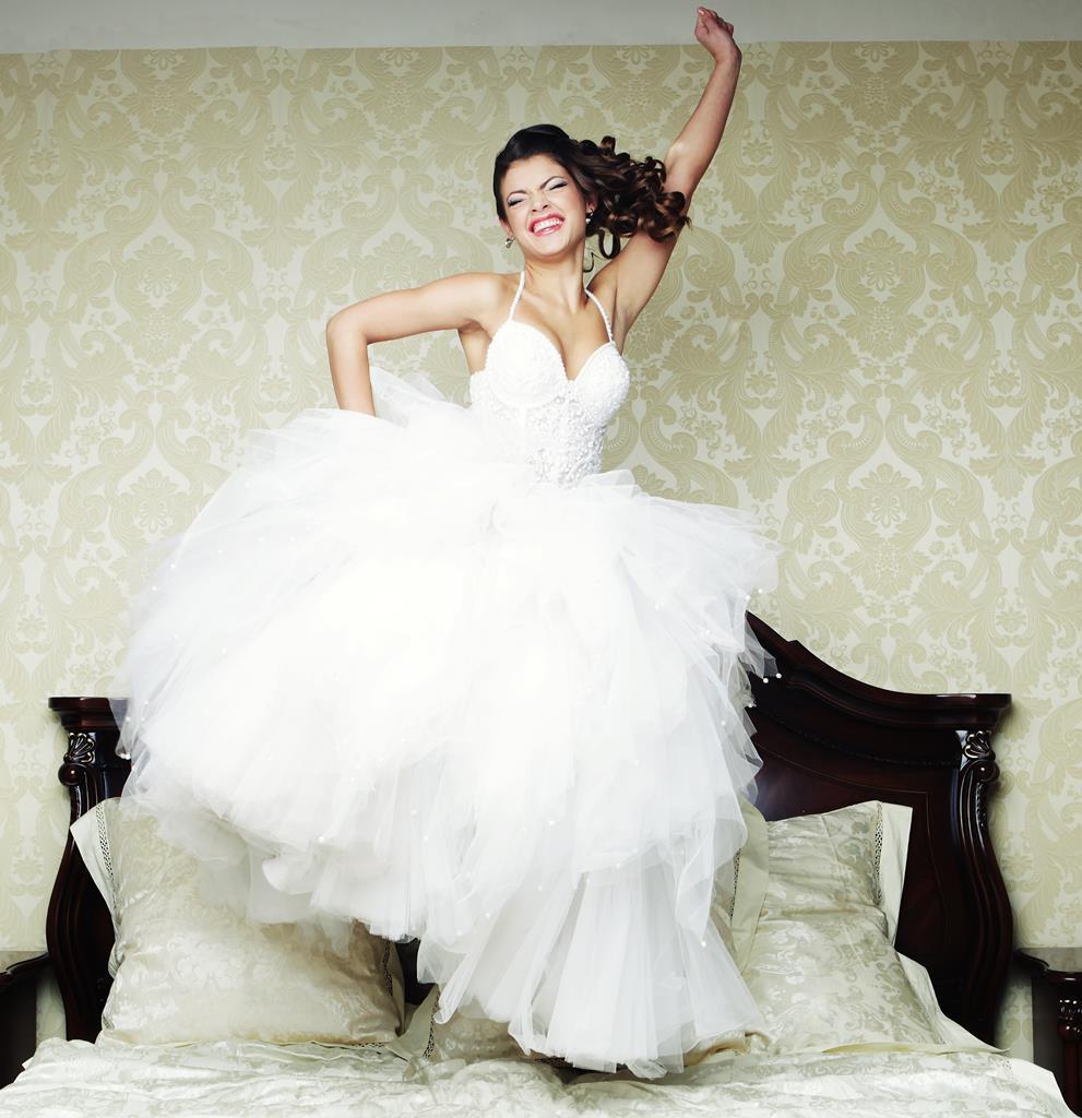 Bride Was Extremely Happy No 82