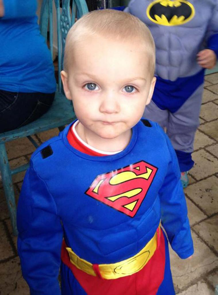 Superboy Gavin Glynn, whose father John, wants to help Shan and her family Pic: FIle