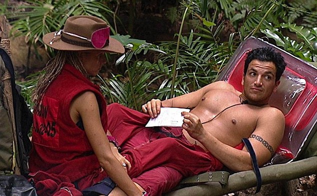 Katie and Peter met in the jungle in 2004. Pic: ITV