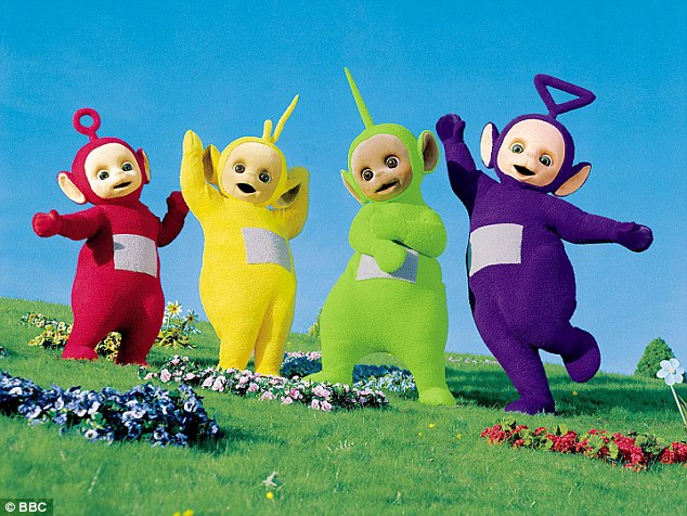 As no one could predict the success of Teletubbies (pictured) Jess was paid £250 and given a box of toys. Pic: File