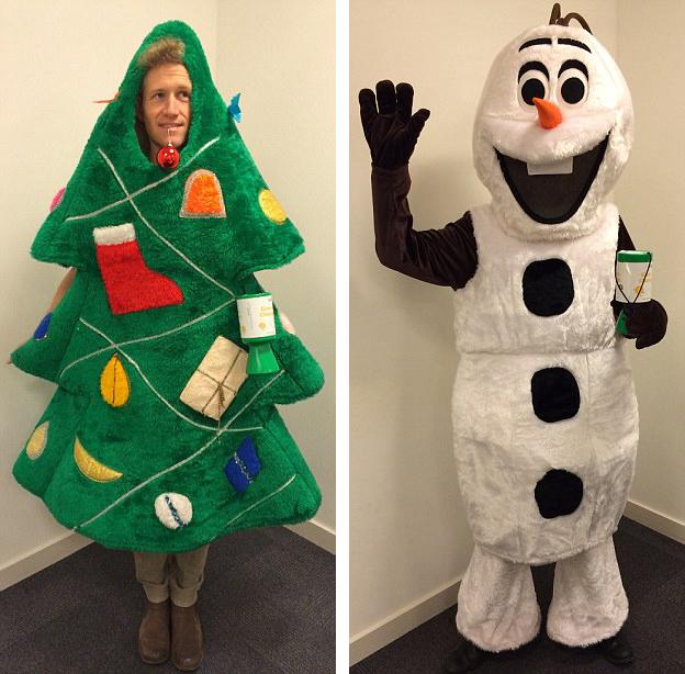 Calendar Dress Up Ideas : Costume crazy engineer counts down days to christmas