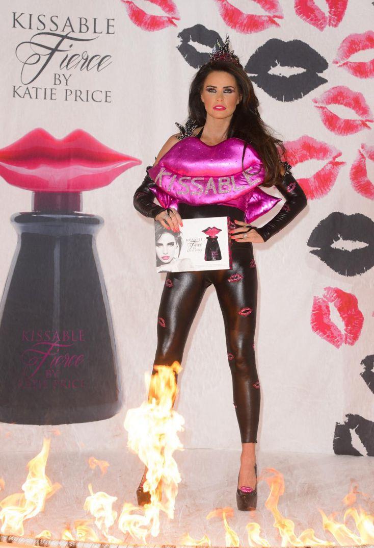 Katie Price Latex