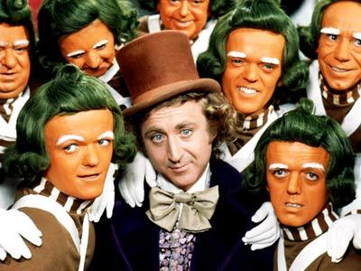 Willy Wonka and his oompa loompas probably had great memory function Pic: File