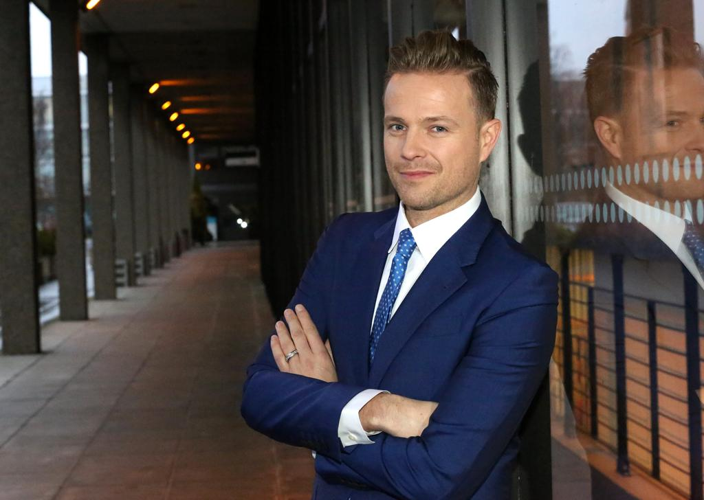 Former Westlife star Nicky Byrne would love to do the Eurovision