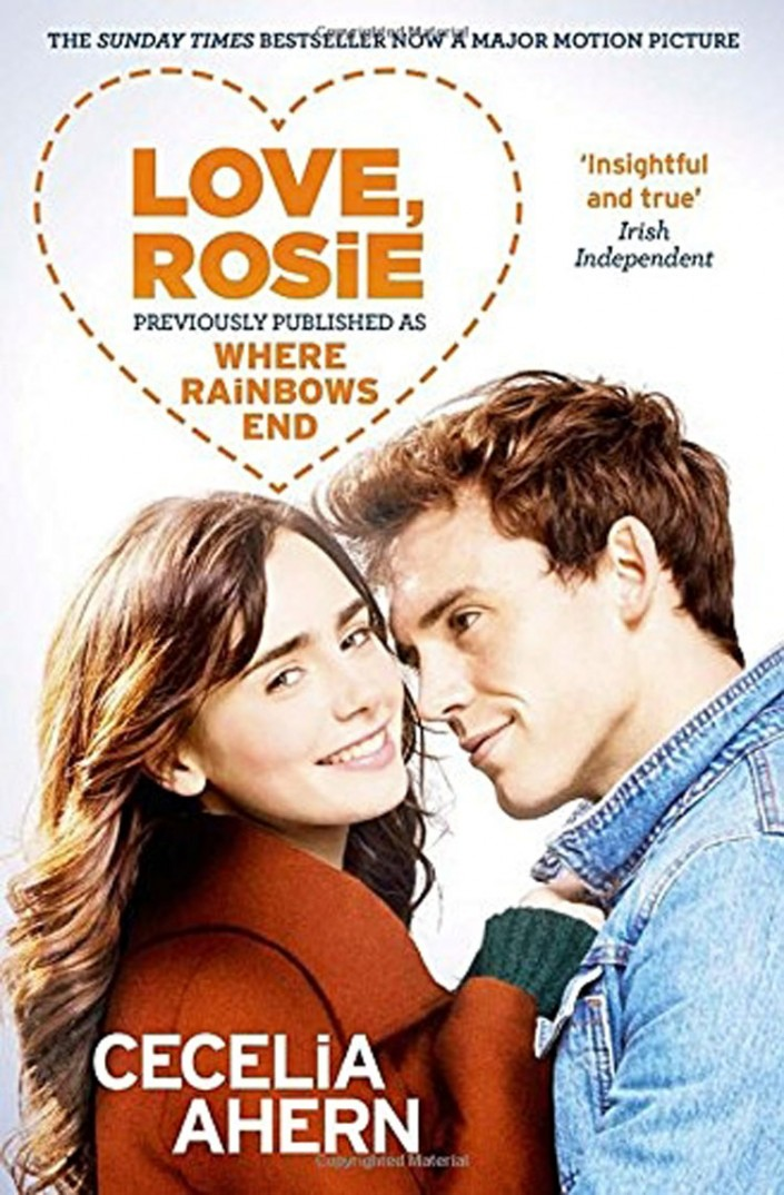 Where Rainbows End, was made into Hollywood blockbuster, Love Rosie, starring Lily Collins and Sam Claflin.