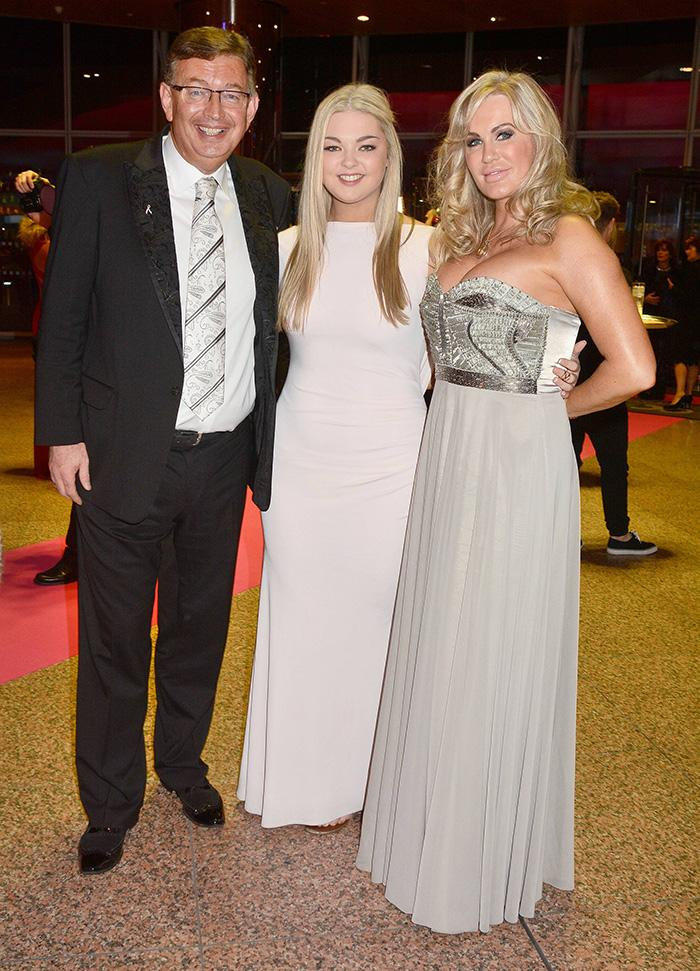 Gerald and Lisa with his daughter Kirsten