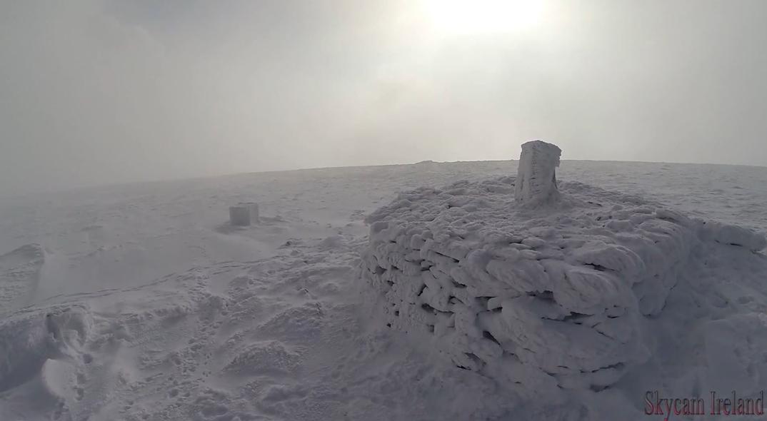 Wicklow Snow Video Drone