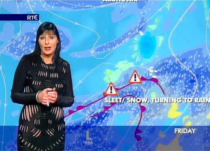 This website seems to know more about the weather here than Jean Byrne Pic: File