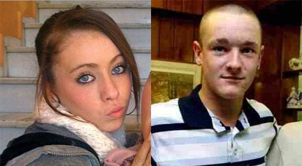 Missing Amy Fitzpatrick (L), sister of Dean Fitzpatrick (R), 23,