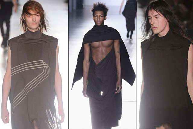 The Rick Owens Paris Fashion Show Full-Frontal Male Model -9826
