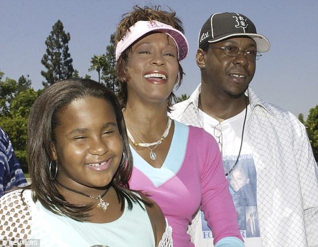 Whitney, Bobbi and Bobby Brown
