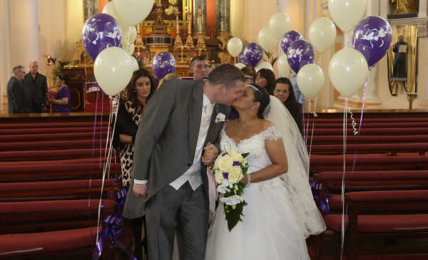 Terminally Ill Bride Has Dream Wedding Day