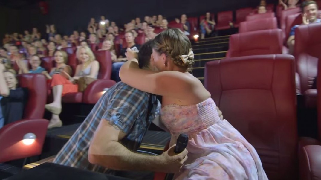 video fifty shades of grey proposal wedding proposal in cinema  video fifty shades of grey proposal wedding proposal in cinema 2