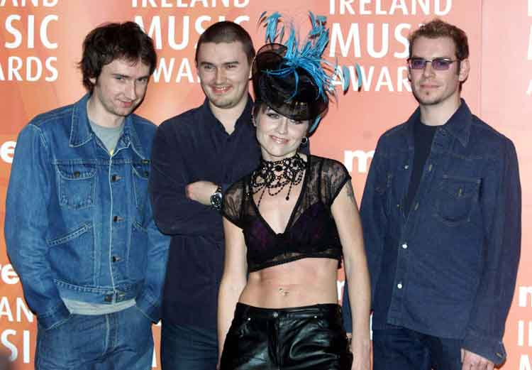 The Cranberries have had major success internationally as a band Pic: File