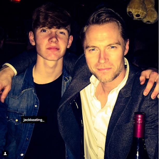 Ronan Posts Message For Jack Keating's Birthday
