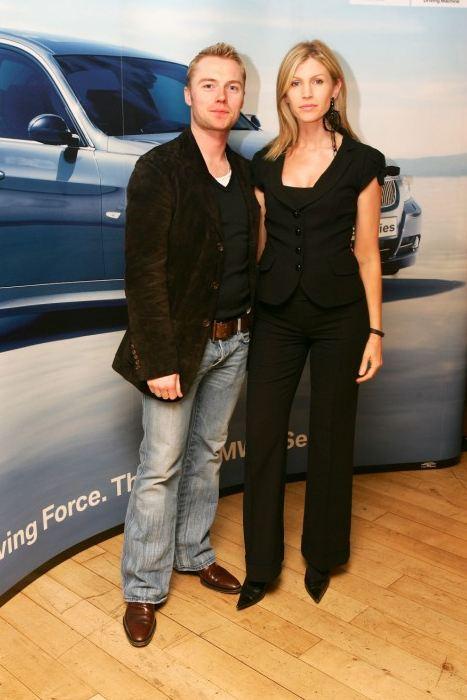 Yvonne with former husband Ronan Keating